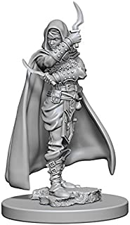 WizKids Pathfinder Deep Cuts Unpainted Miniature: Human Female Rogue