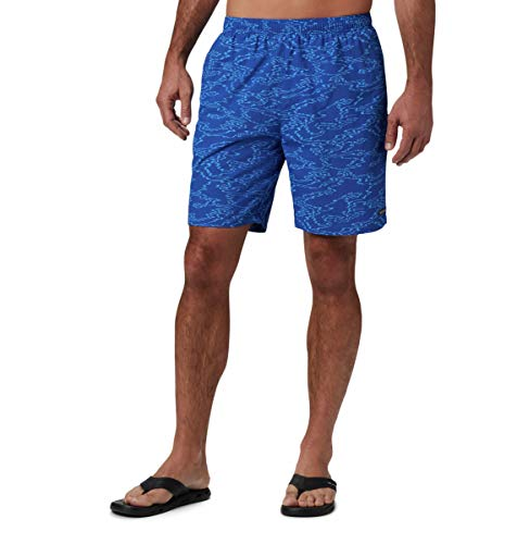 Columbia Bañador para Hombre Big Dippers Water Short Azul Wavy Islands M