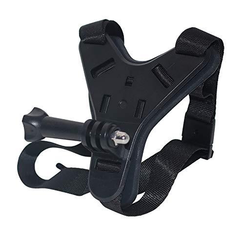 ljym88 Soporte de barbilla para casco de bicicleta de viaje, fijo, ajustable,...