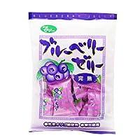 光陽 豊橋のゼリー菓子 ブルーベリーゼリー(完熟) 10袋セット