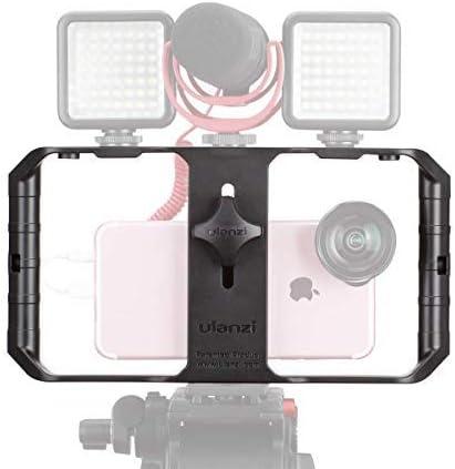 ULANZI U Rig Pro Smartphone Video Rig, Filmmaking Case, Phone Video Stabilizer Grip Tripod Mount for Video Maker Film...