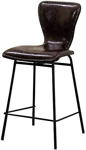 NJ barkruk barkruk retro hoogte kruk eetkamer kluis ontbijt stoelen barkruk voetensteun met bistro legg metaal koffie keuken 3.15