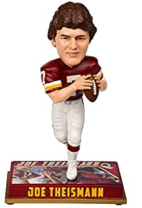 Forever Collectibles NFL Washington Redskins Mens Washington Redskins Bobblehead - 8 - Retired Player - Joe Theismann #7 - Special Order, Team Colors One Size