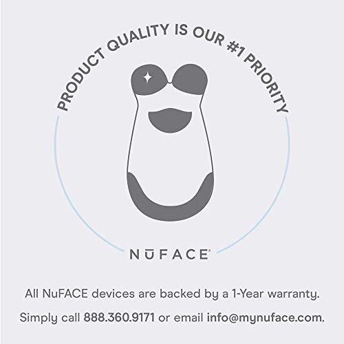 NuFACE Petite Facial Toning Device   Mini Facial Trainer Device + Hydrating Leave-On Gel Primer   Skin Care Device to Lift Contour Tone Skin + Reduce Look of Wrinkles   FDA-Cleared At-Home System
