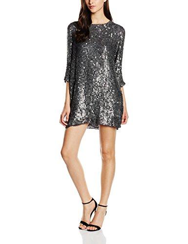 BDBA, Dress Mini - Vestido para mujer, color irong, talla 38