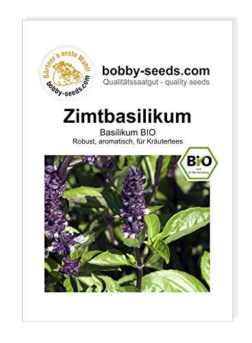 Bobby-Seeds BIO-Kräutersamen Zimtbasilikum Portion