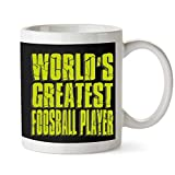 Taza de jugador de futbolín más grande del mundo 11 onzas
