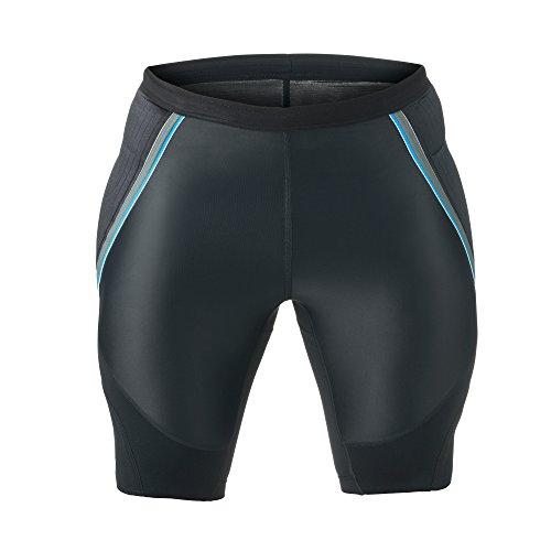 Rehband 7786 Cycliste gardien de but Avec rembourrage Lycra Noir XL