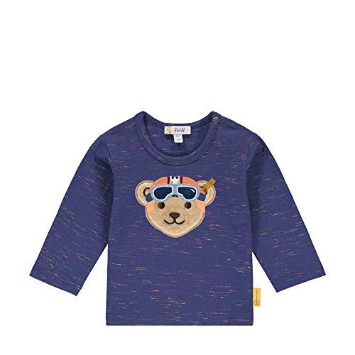Steiff Baby-Jungen Langarm T-Shirt, DEEP Cobalt, 068