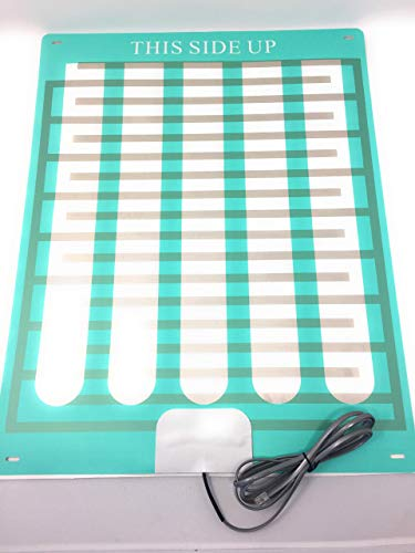 """Bed Wetting Urine Sensor Pad Mat with Alarm,Recommended,Nocturnal Enuresis Caregiver Hospital Quality for Home Use Cure Treatment,Boys,Girls,Adults,Music or Alarm,Potty Training,Easy (16x21"""" by Giver)"""