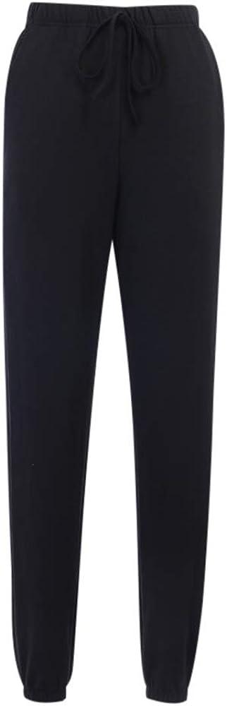 huateng Stop Looking At My Butt Stampa di personalit/à Pantaloni Casual da Donna Pantaloni Divertenti