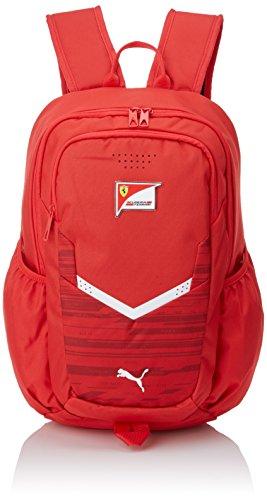 PUMA Ferrari Replica Backpack Mochila, Unisex Adulto, Rojo, Talla Única
