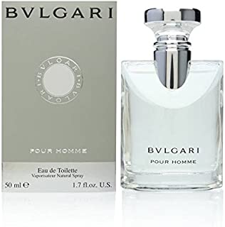 Bvlgari Pour Homme by Bvlgari for Men - Eau de Toilette, 50ml