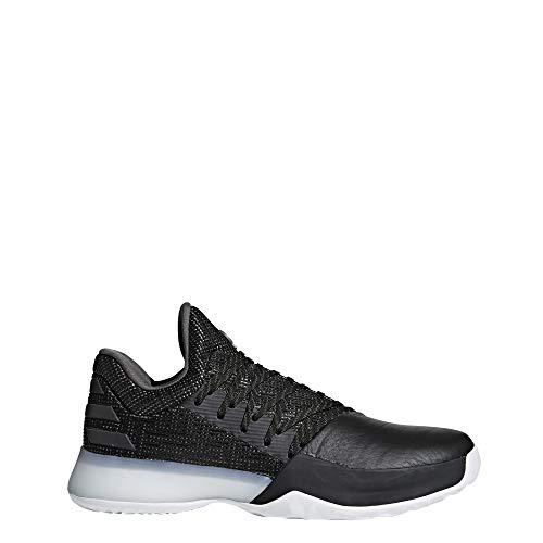 adidas Herren Harden Vol. 1 Basketballschuhe, Schwarz (Negbás/Carbon/Roalre 000), 47 1/3 EU