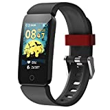 DoSmarter Fitness Tracker Watch for Kids Boys Girls, Waterproof Health & Activity Tracker for Kids with Step Calories Counter, Heart Rate, Sleep Monitor, Great Kids Gift