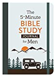 The 5-Minute Bible Study Journal for Men