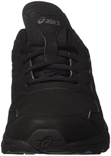 Asics Gel-Mission 3, Walking Shoe Hombre, Negro (Black/Carbon/Phantom 9097), 42.5 EU