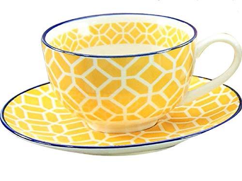 Creatable Kaffeetasse mit Untertasse Mediterran zu 17362 (Curry)