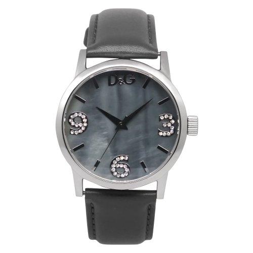 D&G Dolce&Gabbana Damen-Armbanduhr Analog Quarz Leder DW0691