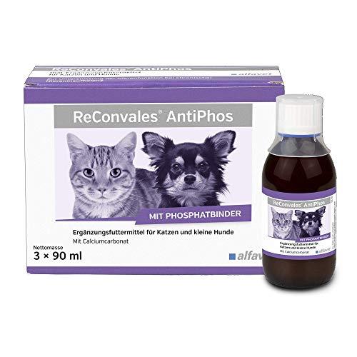 ReConvales AntiPhos Diät-Ergänzungsfuttermittel zur Unterstützung der Nierenfunktion bei chronischer Niereninsuffizienz