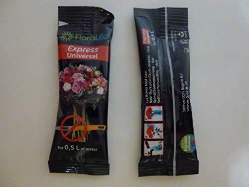 Floralife Express Universal 300 flüssig Blumennahrung 20 x 10 ml ohne anschneiden