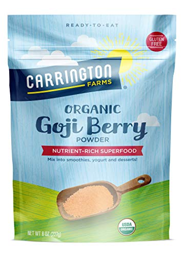 Carrington Farms Organic Goji Berry Powder, 8 Ounce