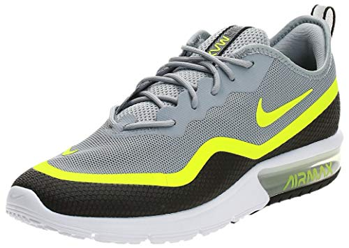 Nike Air Max Sequent 4.5 Se, Scarpe da Atletica Leggera Uomo, Multicolore (Black/Volt/White 000), 44 EU
