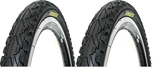 P4B | 2X 26 Zoll Fahrradreifen | mit PANNENSCHUTZ K-Shield | Für weniger Pannen und Rollwiderstand | 26 x 1.95 | 50-559 | Fahrrad Decke | Fahrradmantel