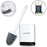 Sellemer Bathroom Toilet Brush and Holder Set
