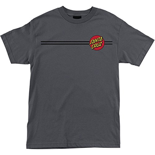 POKEMING Santa Cruz Skateboards Classic Dot T-shirt met korte mouwen