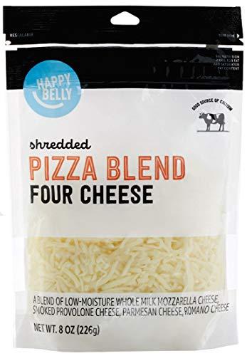 Shredded cheese pizza blend
