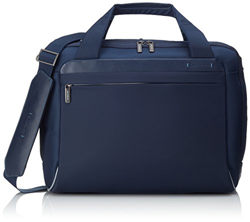 "Samsonite Spectrolite Borsa Messenger M 16"" Espandibile, Nylon, Blu, 21.5 ml, 45 cm"