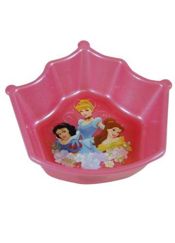 Pink Disney Princess Crown Shapped Bowl - Disney Dinnerware