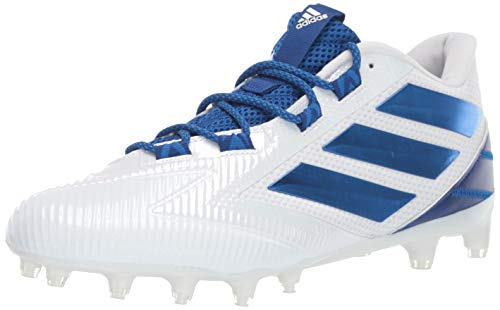 adidas Men's Freak Carbon Low Shoes, White/Collegiate Royal/White, 12.5 M US