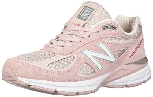 New Balance Men's 990v4 Sneaker, Faded Rose/Komen Pink, 7 UK