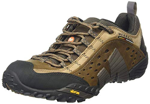 Photo of Merrell Men's Intercept Low Rise Hiking Shoes, Brown (Moth Brown), 11 UK 46 EU
