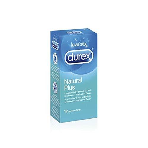 Durex Preservativos Natural Plus con 3 Condones Sensitivo Suave de Regalo - Total 15 Unidades