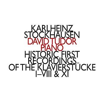 Historic First Recordings of The Klavierstücke I-VIII & XI
