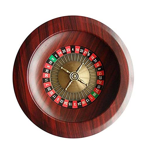 Dongbin Hölzernes Roulette-Rad Party-Roulette-Rad-Set Unterhaltungs-Freizeit-Tischspiele für Familienspaß ,Unterhaltung Tischspiele Für Erwachsene Kinderverlosung Plattenspieler
