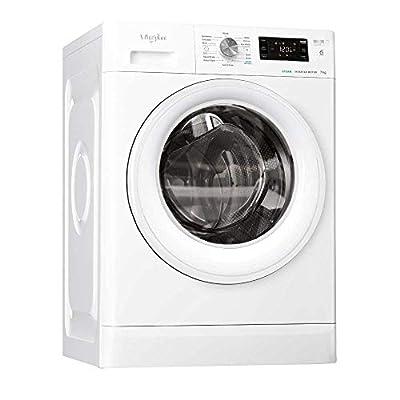 Whirlpool FreshCare FFB7438WVUK Freestanding Washing Machine, 7kg, 1400rpm, White