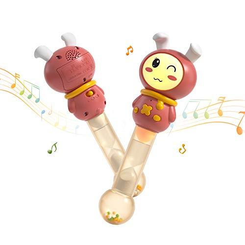 Tumama Juguetes Electrónicos Musicales para Bebes,Juguetes Instrumentos Musicales para Niños,Juguetes Sensoriales Regalo para Bebés,Niños Bebés Infantil Niños y Niñas 3 6 9 12 Meses y mas Viejo