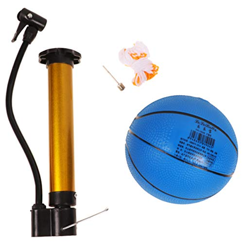 Great Deal! TOYANDONA Basketball Balls Indoor Sports Balls 4 inch Mini Bouncy Balls Photo Props Pare...