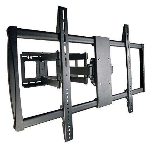 "Swivel/Tilt Wall Mount with Arm for 60"" to 100"" TVs, Monitors, Flat Screens, LED, Plasma or LCD Displays () Black - Tripp Lite DWM60100XX"
