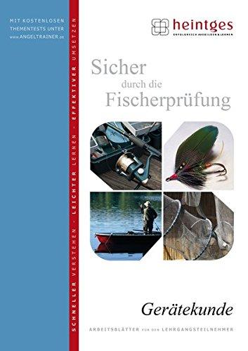 Gerätekunde (Sicher durch die Fischerprüfung. Arbeitsblätter)
