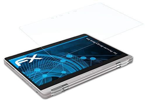 atFolix Schutzfolie kompatibel mit Porsche-Design Book One Folie, ultraklare FX Bildschirmschutzfolie (2X)