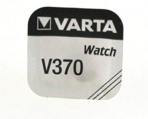 Varta V370 Household Battery Single-use Battery Siler-Oxid (S) 1,55 V - Batterien (Single-use Battery, Siler-Oxid (S), 1,55 V, 30 mAh, Silber, 9,5 mm)