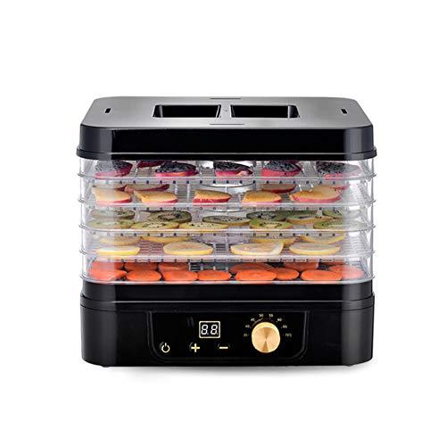 PICKME 500W 5 Tabletts Dörrautomat Mit Digital-Timer Und Temperaturregelung Für Obst Gemüse Fleisch Beef Jerky Hersteller BPA Frei