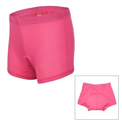 BESPORTBLE Pantalones cortos de ciclismo para mujer de 1 pieza Pantalones cortos transpirables 3D acolchados Pantalones de ciclismo de alta permeabilidad al aire Pantalones cortos...