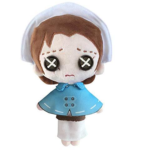 HHtoy 20cm Emily Dale Plüsch-Kissen-Spielzeug Identität V Anime Figuren Puppen Cartoon Stuffed Puppet Weiche Kinder Kindheit Playmate Geburtstag