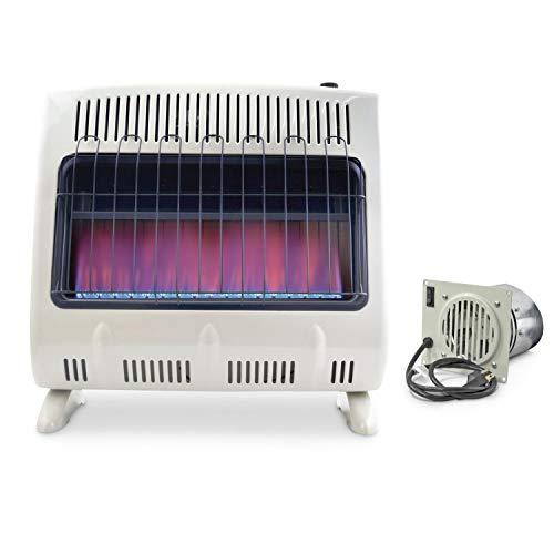 Mr. Heater, Corporation Mr. Heater, 30,000 BTU Vent Free Blue Flame Propane Heater, MHVFB30LPT (Bundle)